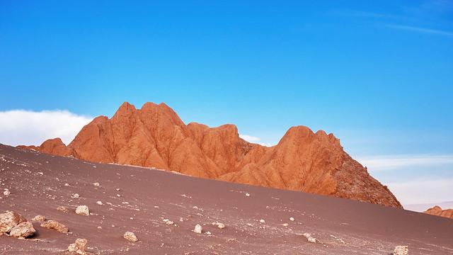 Mountain in Valle de la Luna / Berg in Valle de la Luna