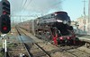 A black 3801 steaming through Adamstown on its way back to Sydney.