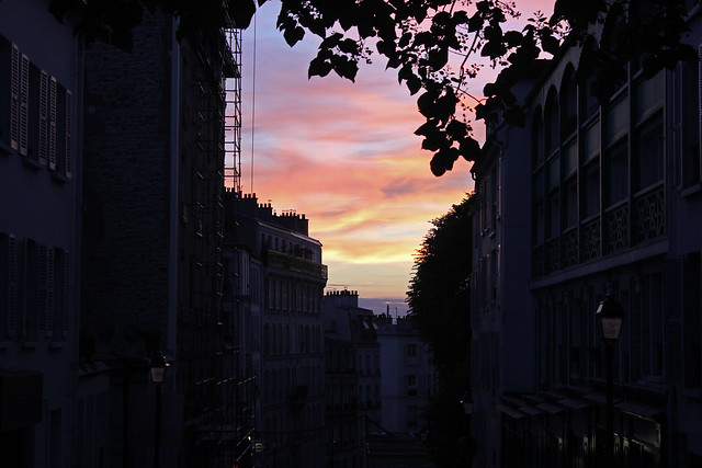 Montmartre Sunset