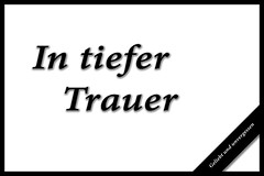 In tiefer Trauer 277/366