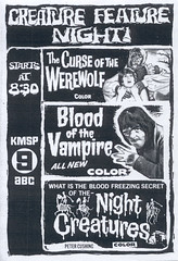 Creature Feature Night, 1971