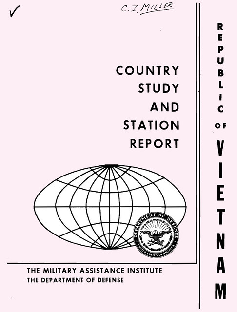Republic of Vietnam - Country Study and Station Report (Dec 1961)