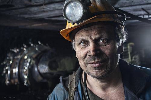 Russian Coal Miner