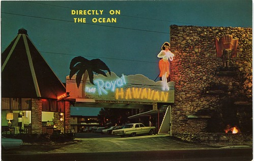 Royal Hawaiian Hotel, Daytona Beach, florida