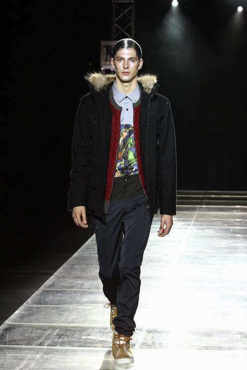 Maxime Bergougnoux3083_FW13 yoshio kubo(Fashionsnap)