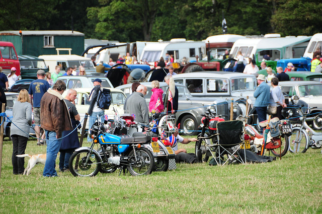 Nostell Priory Steam Fair - Motorcycles, Vintage Cars and Tractors
