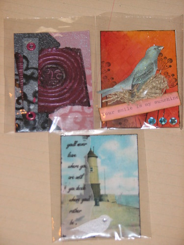 Ink Stains March Charm n ATC Swap 024