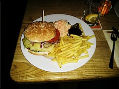 California Burger in der Cantina
