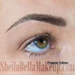 hairstroke eyebrows (permanent)