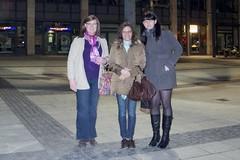 Farah, Jeanette und ich in Stuttgart