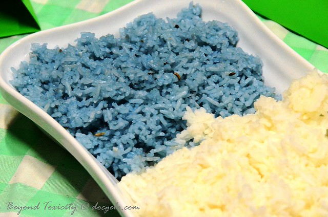 Blue Rice by Pearly Kee