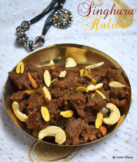 Singhara Halwa