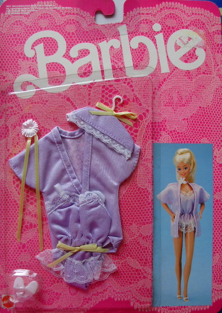 Fancy frills for Barbie 1986