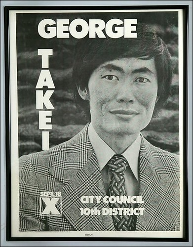 George Takei for City Council!