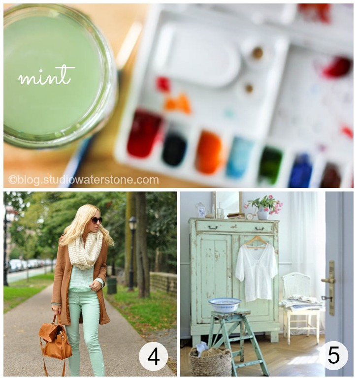 mint Collage e