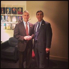 .@TGowdySC and I before we head on @GretaWire to discuss US GAO duplicative programs report.