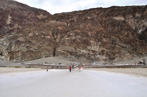"Can You Spot the ""Sea Level"" Sign? At Badwater Basin, Death Valley National Park, Calif."
