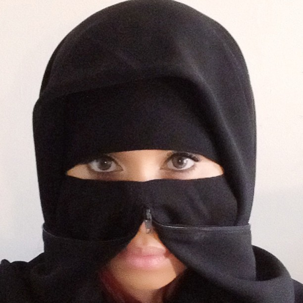 What do you think about a niqab with a zipper or a zipniqab as it's known?