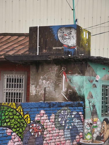 Graffiti @ 橋頭白樹社區