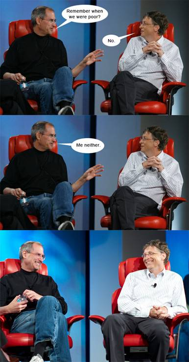 2 Dialogues: Bill Gates Dialogue with Steve Jobs
