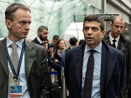 Maurizio Lupi e Giovanni De Ponti