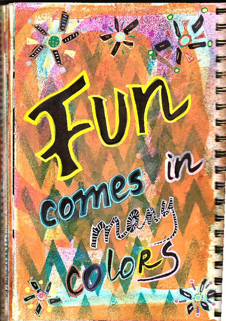 fun journal page