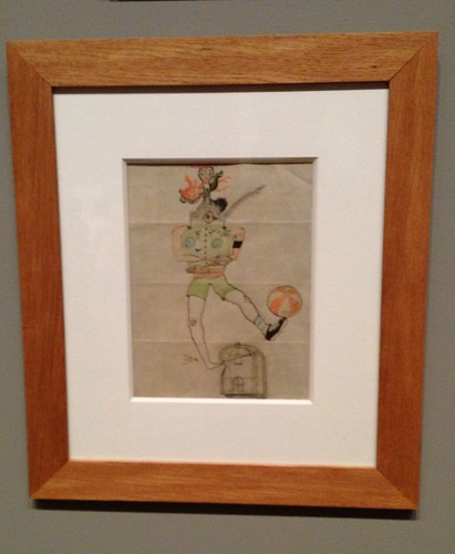 Exquisite corpse drawing (Breton/Duhamel/Morise/Tanguy), 1928