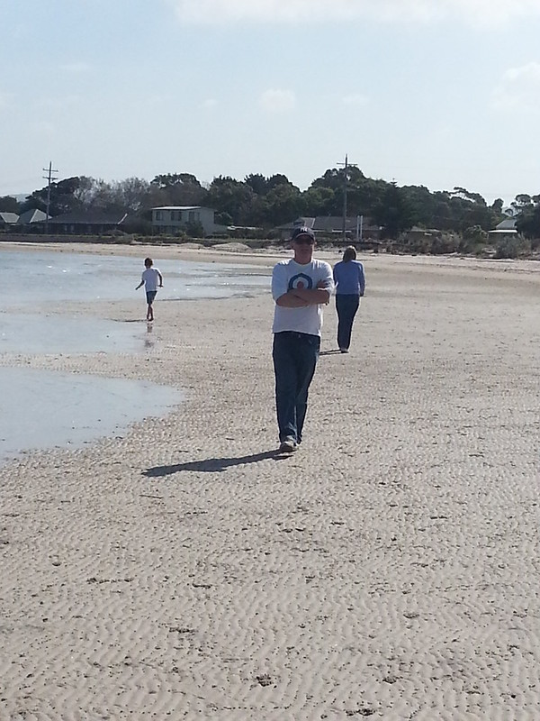 Beachside promenade