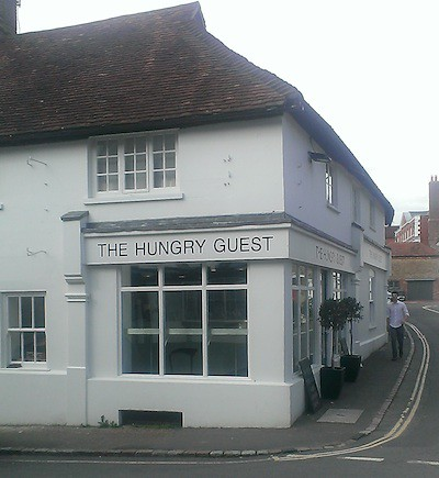 Hungry Guest shop in Petworth by PetworthPoster