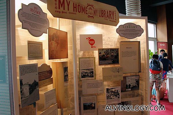 Singapore memories around library@esplanade
