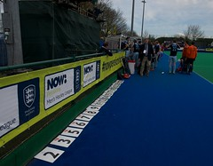 NOW:Pensions Men's Hockey League Championship 3/4th place match Reading V Canterbury