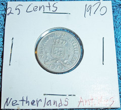 25 Cents 1970 Netherlands Antilles (1)