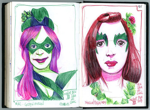 39th Sketchcrawl & 31th Salón del Cómic de Barcelona #2