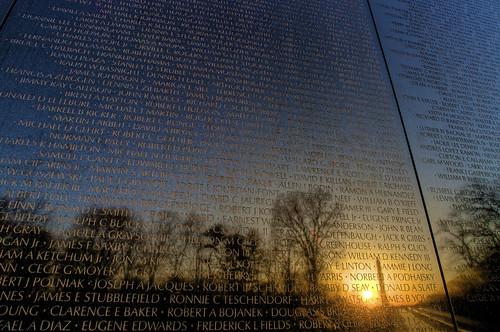 morning alex wall sunrise dawn washington nikon memorial district columbia vietnam hdr d300s thechallengefactory erkiletian