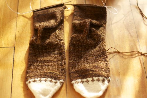 WIP Welsh Country Stockings