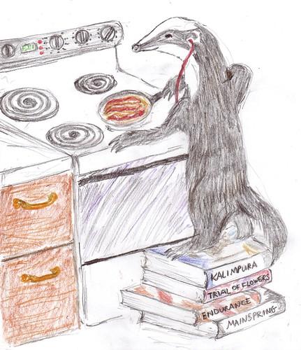 books badger bacon!