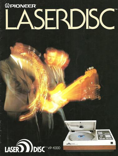 Pioneer VP-1000 LD Player