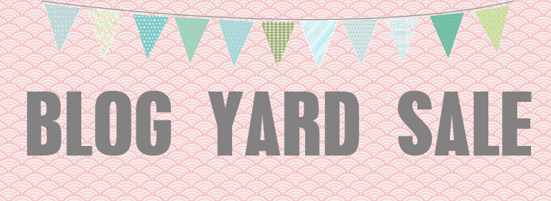 blog yard sale
