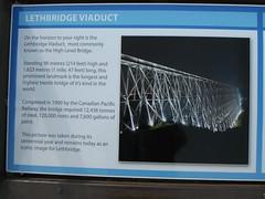 High Level Bridge area Lethbridge