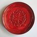 2012 Jakarta Museum: Kamakura-Red Flower-of-Life Plate