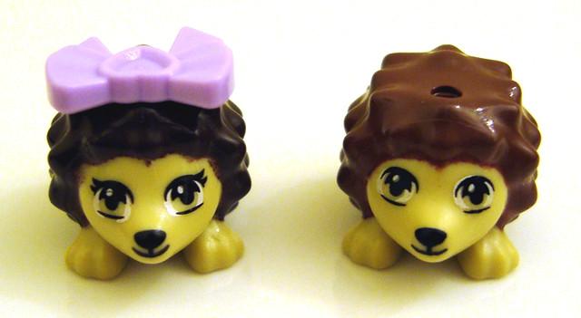 LEGO Friends 41020 Hedgehog's Hideaway Oscar comparison | Flickr ...