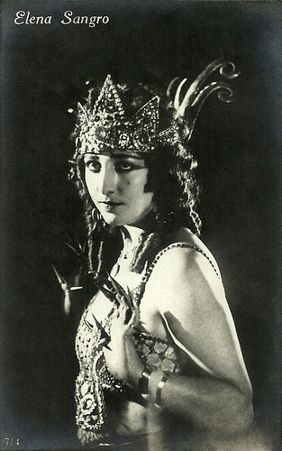 Elena Sangro in Maciste all'inferno