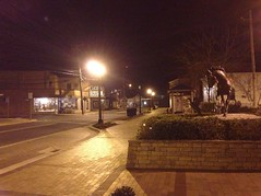Empty Chincoteague Main Street