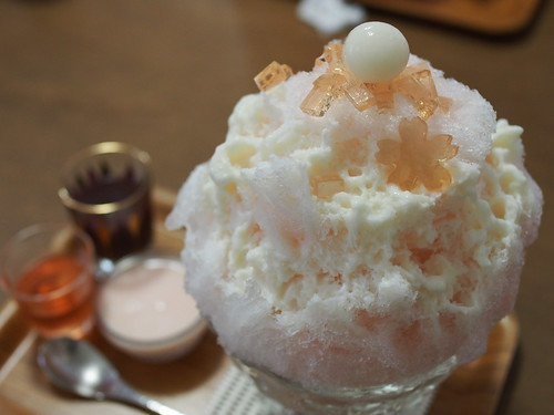 Japanese Shaved Ice Dessert - Spring Ice