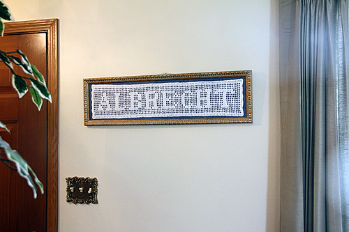 Albrecht-knitted
