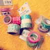Adding to the collection... #washitape #papertape #crafty #craftaholics #creativity #creative #washilove #washilovers