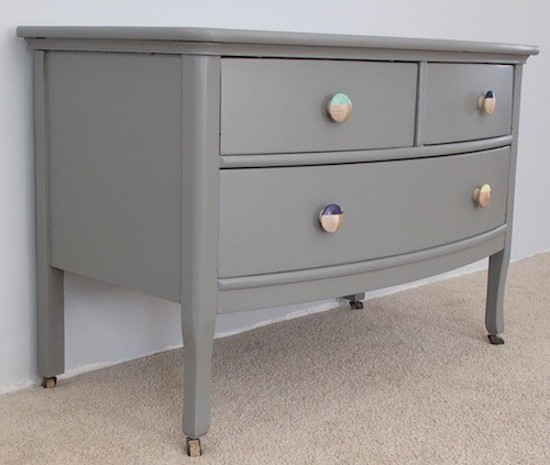 Hand Painted Antique Dresser Before and After « The WitsThe Wits