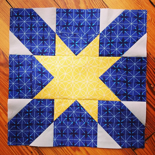 Starburst Cross block