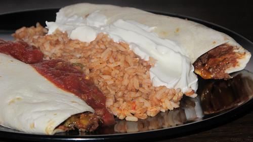 Pulled pork enchiladas by Coyoty