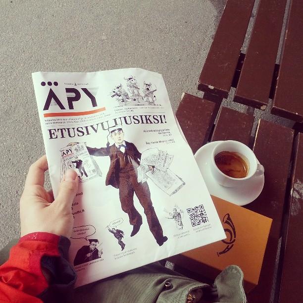 Una revista de Vappu